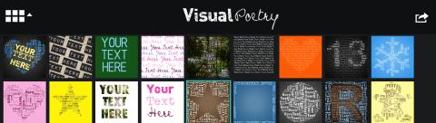 Visual poetry-mall