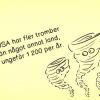 Finns det tromber i Sverige? 1200 tromber/ år, stämmer det?