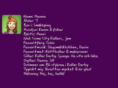 Presentation av Hanna