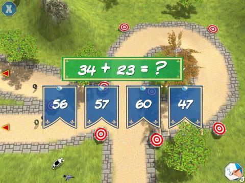 Man har fyra svarsalternativ att välja mellan.